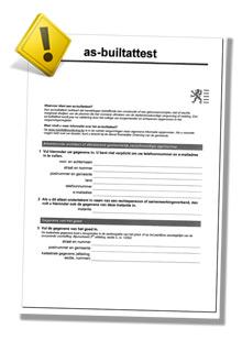 As-built attest aanvragen