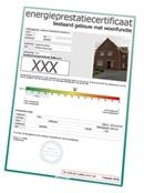 Energieprestatiecertificaat afwezig bij 1 op 3 huizen